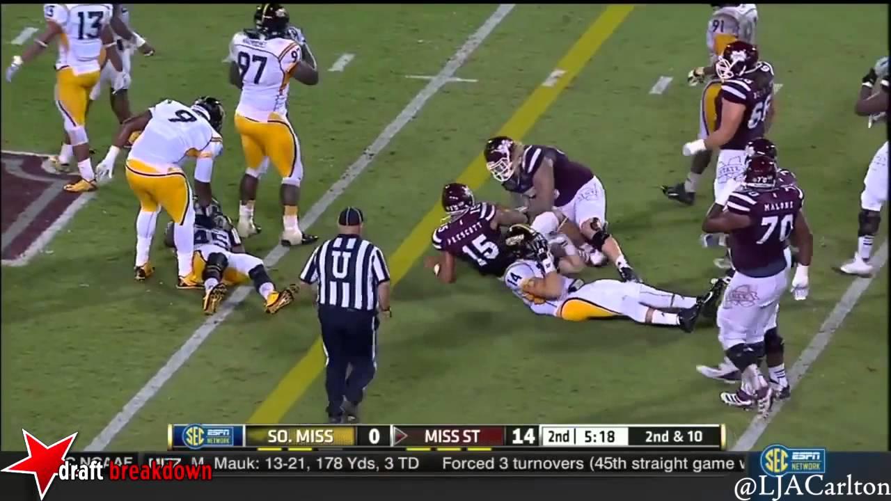 Rakeem Nunez-Roches vs Mississippi State (2014)