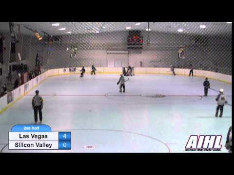 Las Vegas vs Silicon Valley elite game 1 AIHL playoffs