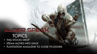 Elder Speak - THQ Stock Drops, Playstation Magazine Closing in 2012