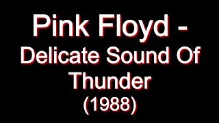 Pink Floyd Video - Pink Floyd - Delicate Sound Of Thunder [Full Album]