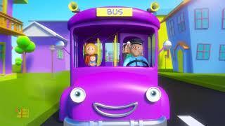 Wheels On The Bus | Nursery Rhymes | Kids Songs For Children