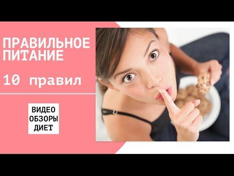 ТОП 10 советов правильного питания на каждый день