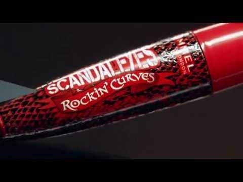 Exclusive Video: Kate Moss for Rimmel London. Scandaleyes Rockin Curves Mascara