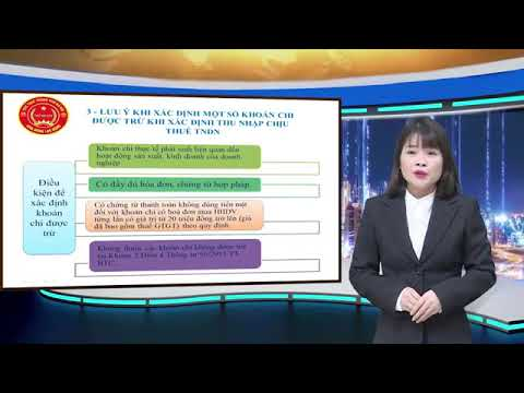 Hướng dẫn quyết toán thuế TNDN năm 2020