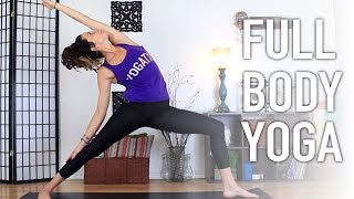 Full Body Flow - Beginners Total Body Yoga Workout