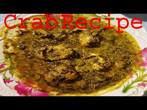 CRAB CURRY WITH GONGURA LEAVES