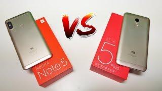 Comparativo - Redmi note 5 Versus Redmi 5 Plus...Qual é o melhor?
