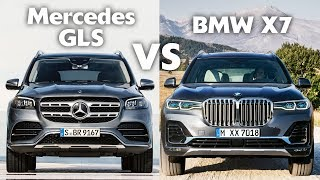 2020 Mercedes-Benz GLS vs BMW X7 - The Ultimate Luxury 7-Seat SUV Battle!