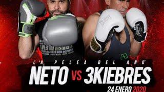 NETO BRAN VS 3KIEBRES EN VIVO LA PELEA DEL AO