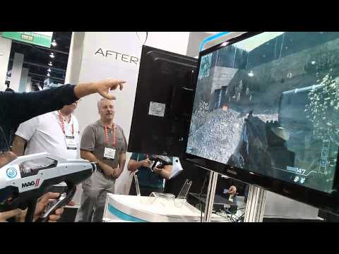 CES 2013: MAG II Gun Controller Demo (PC and PS3)