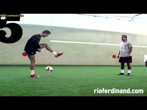 يتفوق على كريستيانو رينالدو فى تحدى مهارات