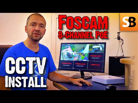 Foscam HD Camera System Review & CCTV App Setup