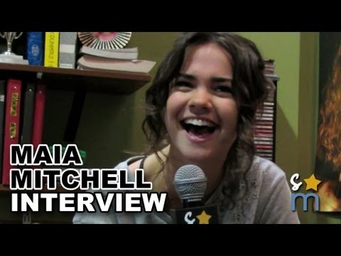 Maia Mitchell Talks
