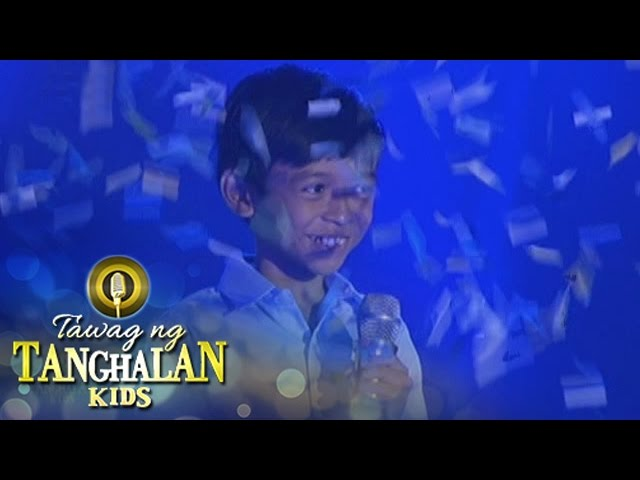Tawag ng Tanghalan Kids: Kiefer Sanchez advances to the semi-finals!