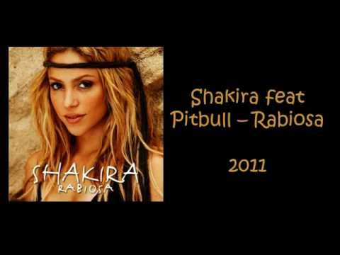 Shakira feat Pitbull - Rabiosa (Lyric Video)