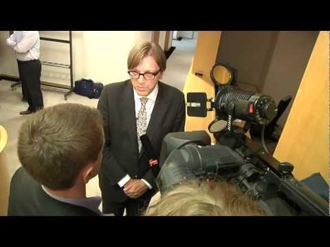 [Broadcast HD] Merkel visit to Brussels ahead of crucial EU summit