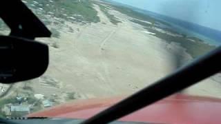 Landing At Anse A Galets Airstrip Isle La Gonave Haiti Mov02313