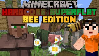 Bed Stealer - Minecraft Hardcore Superflat Bee Edition - Episode 5