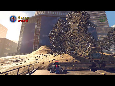 LEGO Marvel Super Heroes Spider-Man Gameplay PC Demo