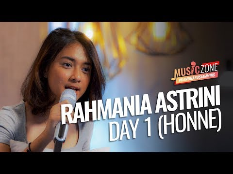 Download  Rahmania Astrini - Day 1 ◑  Honne Cover - Live at  ZONE Gratis, download lagu terbaru