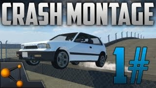 BeamNG DRIVE  Revolutionary Soft-Body Physics Car Crashes 1# [HD]