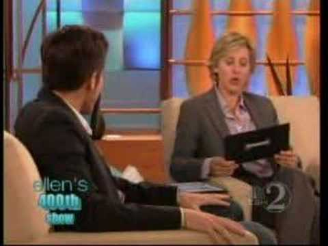 Jake Gyllenhaal at Ellen's 400th show