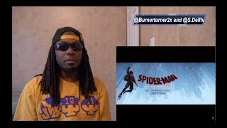 Spider-Man: Into The Spider-Verse Official Trailer Reaction