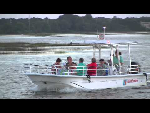Island Explorer - Sunset and High Tide Dolphin and Nature Cruise