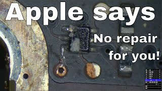 Apple uses spite to force planned obsolescence. Watch $750 tier 4 repair performed with $2 in parts.