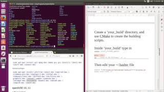 CERN ROOT tutotiral for beginners -- install ROOT 6.08 on Ubuntu 16.04 by cmake