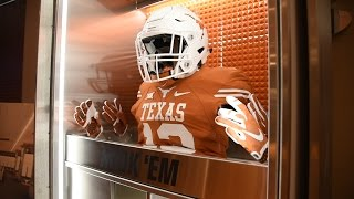 Texas Football New Locker Feature [April 19, 2017]