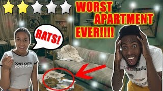 Living At The Worst Reviewed Apartment In My City (LESS THAN 1 STAR) *HEALTH INSPECTOR  CALLED*