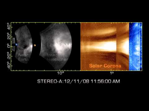 NASA STEREO Tracks Solar Storms - First Time