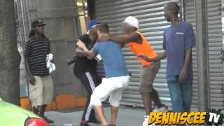Stepping On Jordans In The Hood Prank