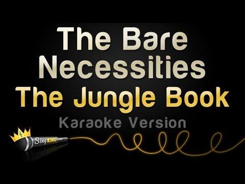 The Jungle Book - Bare Necessities (Karaoke Version)
