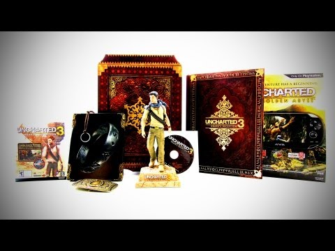 Uncharted 3 Collector's Edition Unboxing