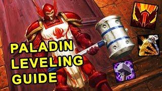 Classic Wow: Paladin Leveling Guide  - Talents, Rotation & Weapon Progression