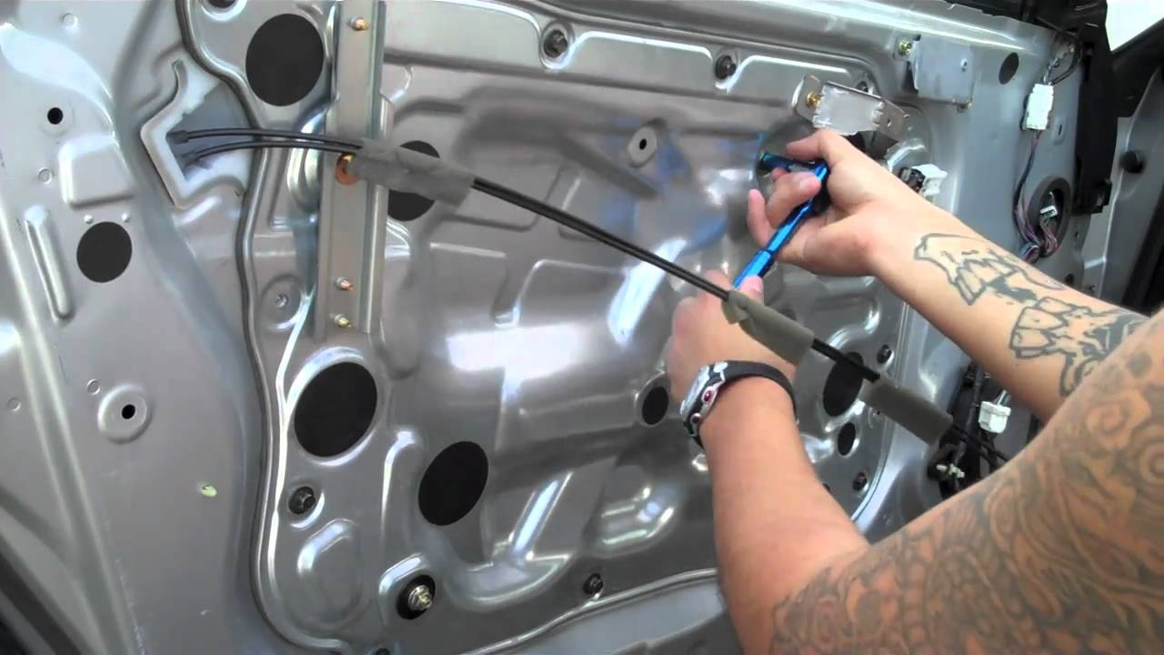 Diy replace infiniti g35 coupe window motor part 1 youtube Car window motor replacement