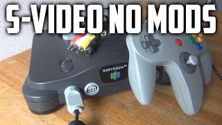 Getting the best video quality from a PAL N64 !!NO MODS!!