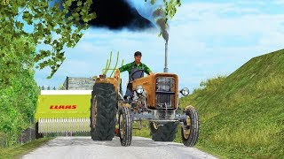 Harvesting, Balling small bales with URSUS in Slovenia WTS17