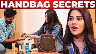 Nikki Tamboli's Handbag Secrets Revealed by Vj Venkat|What's inside the Handbag