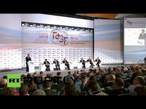 Russia: 'Old economic model exhausted' says Medvedev