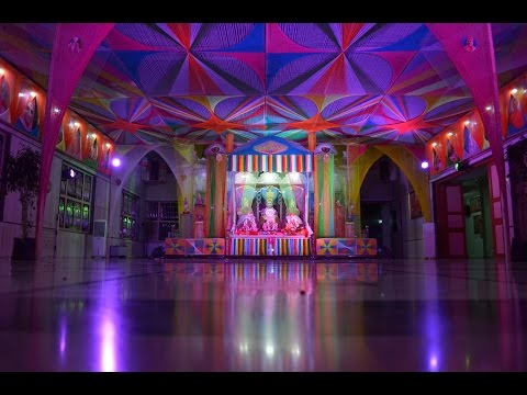 Shree Swaminarayan Mandir Vadodara - Artistic Threads Hindola 2014 video