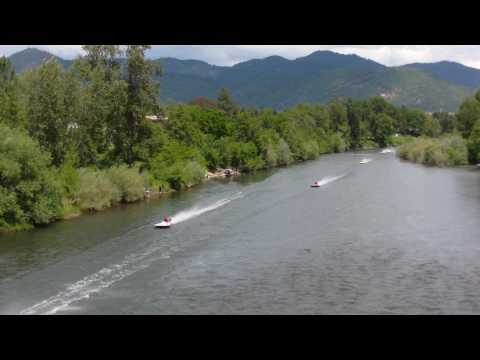 2010 Grants Pass Boatnik - Tom Rice Memorial Hydroplane Race - LAP 3