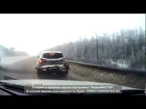 Подборка аварий и ДТП декабрь 2012-январь 2013 Car Crash Compilation