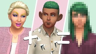 RANDOM GENETICS CHALLENGE // The Sims 4: Create A Sim