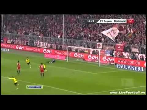 Bayern München 1 - 3 Borussia Dortmund Full Highlights (26.02.2011)