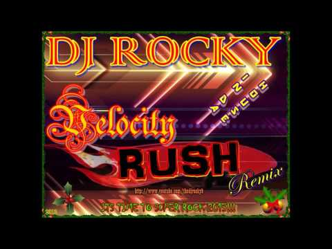NONSTOP BOLLYWOOD VELOCITY RUSH REMIX 201213  - DJ ROCKY !!!
