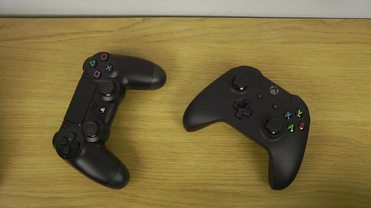 Xbox One Controller vs Ps4 Controller Size Xbox One Wireless Controller