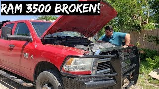 RAM 3500 CUMMINS Broke Down! Absolute Nightmare!